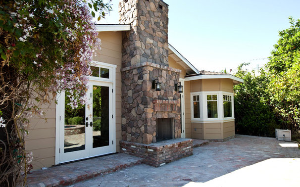 Traditional Exterior by SH interiors