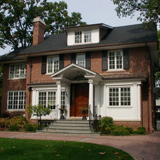 Traditional Exterior by Stuart D. Shayman Associates