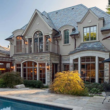 Traditional Exterior by Makow Associates Architect Inc
