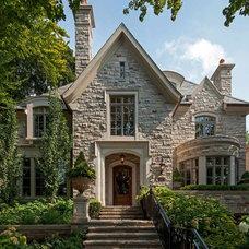 Traditional Exterior by Makow Associates Architect Inc