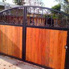 Traditional Exterior by Los Gatos Iron Works Inc.