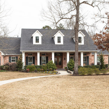 Traditional with Rustic Elements in High Meadow Estates, Montgomery, TX