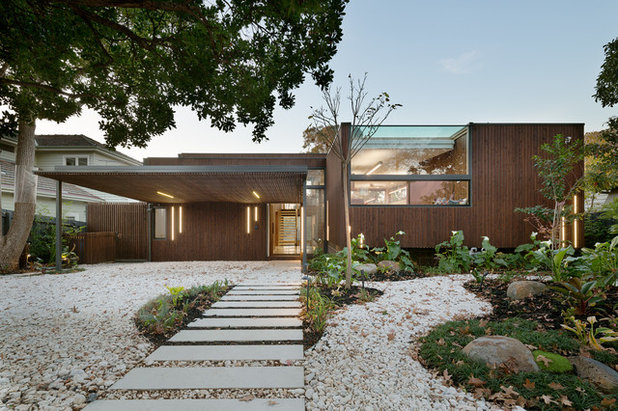 Contemporary Exterior by Zen Architects