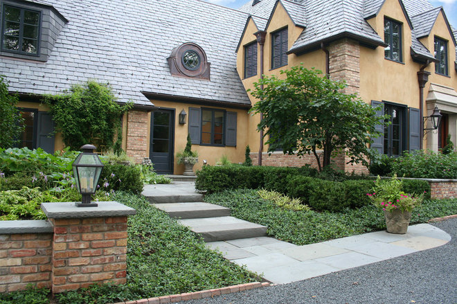 Traditional Exterior by Rocco Fiore & Sons, Inc