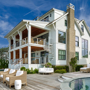 Transitional Bay Front Family Home