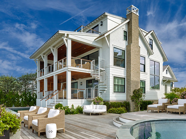 Морской Фасад дома by Asher Slaunwhite Architects