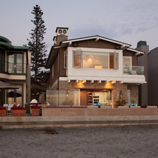 Beach Style Exterior by Anne Sneed Architectural Interiors