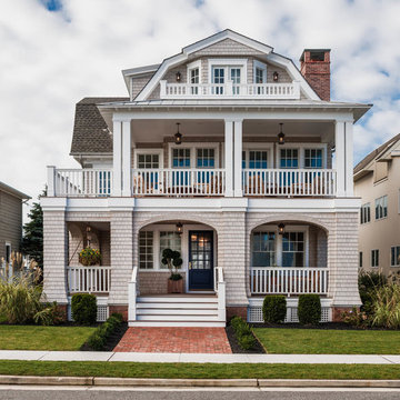 Transitional Beach Retreat, Longport, NJ