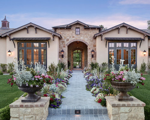 Mediterranean Exterior Design Ideas Renovations Photos