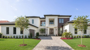 TRANSITIONAL CUSTOM HOME IN WINDERMERE FLORIDA'S KEENES POINTE COMMUNITY
