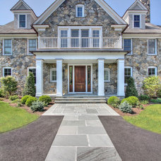 Transitional Exterior by Tallman Segerson Builders