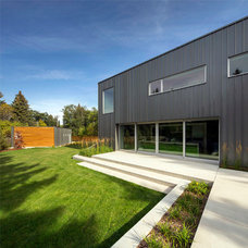 Contemporary Exterior by Shelterbelt Architecture