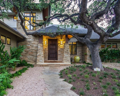 Dry Stacked Stone Home Design Ideas Pictures Remodel And Decor