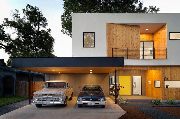 コンテンポラリー 家の外観 by MF Architecture