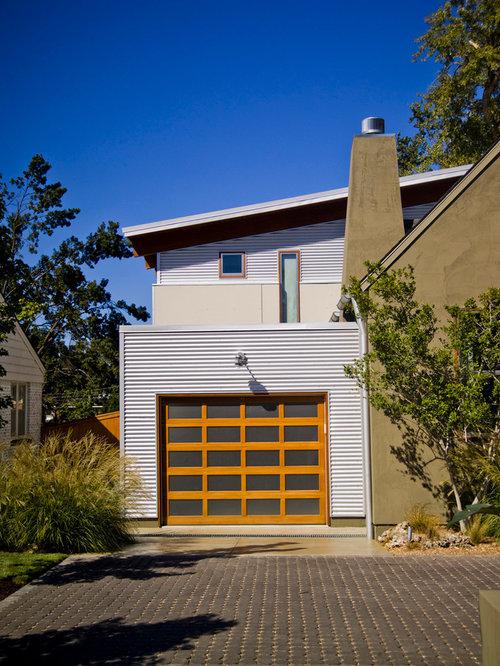 Wood Garage Door Home Design Ideas, Pictures, Remodel and Decor
