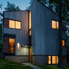Contemporary Exterior by Gardner Mohr Architects LLC
