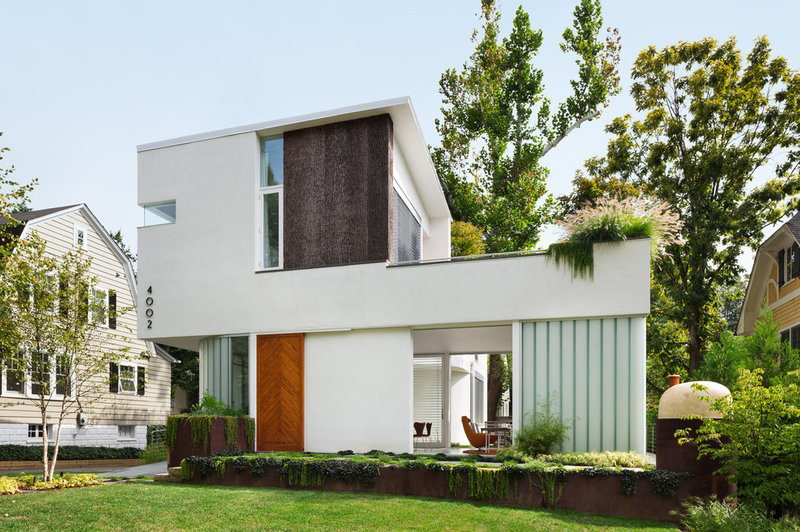 Modern Exterior by Meditch Murphey Architects