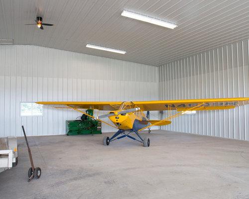 Airplane hangar exterior design ideas remodels photos for Airplane exterior design