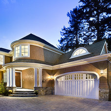 Traditional Exterior by TRG Architects