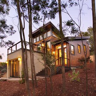 Kleines, Zweistöckiges Modernes Haus in San Francisco