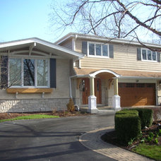 Traditional Exterior by Airoom/Elevations