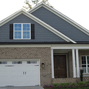 Inspiration for a timeless exterior home remodel in Raleigh