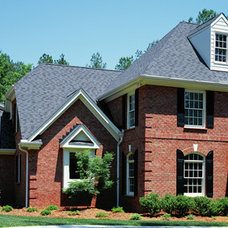 Traditional Exterior by Triangle Brick Company