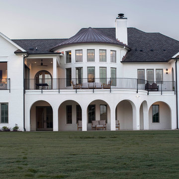 Triangle French Normandy Custom Home
