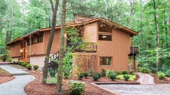 Triangle Modernist Home Renovation