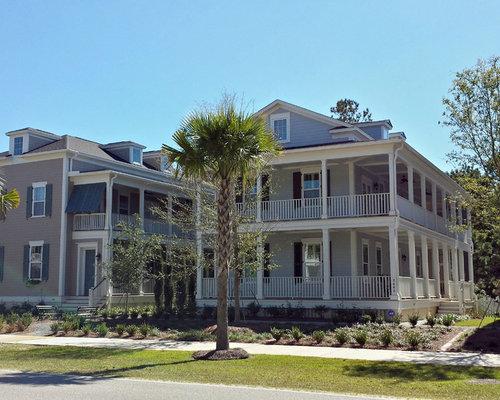 Single family charleston side yard house for Charleston side house plans