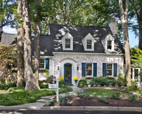 Whitewashed Brick Exterior Houzz