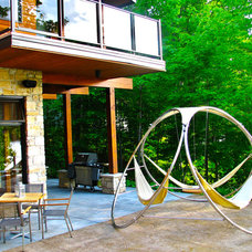 Contemporary Exterior by Trinity Hammocks