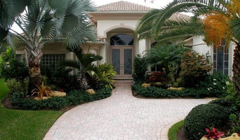 Tropical Design with boulders