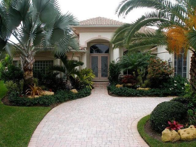 Tropical Exterior by Showcase Gardens