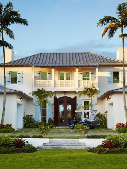 British west indies style houzz for West indies house plans