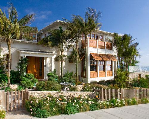 Foto e idee per facciate di case facciata di una casa for Piani di casa florida con immagini