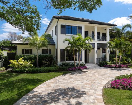 Tropical Exterior Design Ideas Remodels Photos