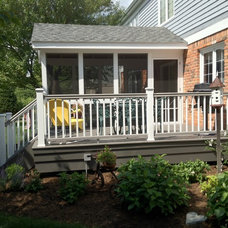 Traditional Exterior by Autumnwood Construction Inc.