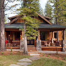 Rustic Exterior by Greenwood Homes