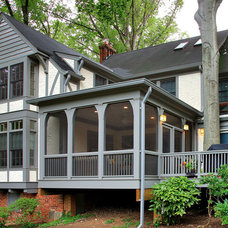 Traditional Exterior by Gilday Renovations Design Build