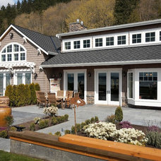 Traditional Exterior by Tom Rochon, Designs Northwest Architects
