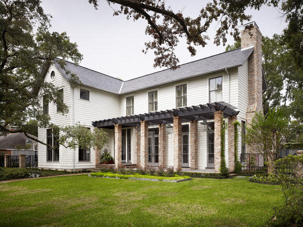 Houzz Tour A Modern Home With A Laid Back Farmhouse Feel