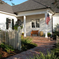 Traditional Exterior by Newton Landscape Group