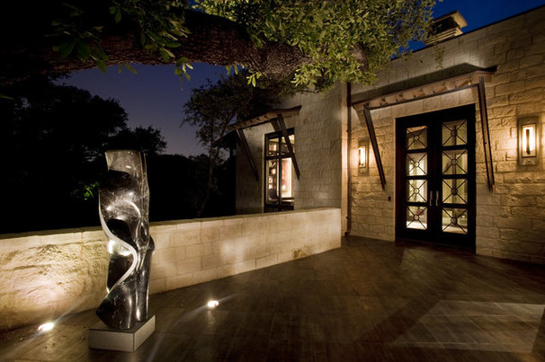 Modern Exterior by Braswell Architecture, Inc.