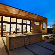 contemporary exterior by Boor Bridges Architecture