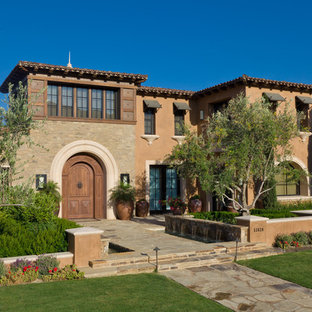 tuscan architecture houzz