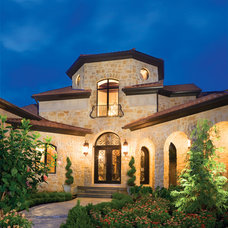 Mediterranean Exterior by Christopher Scott Homes