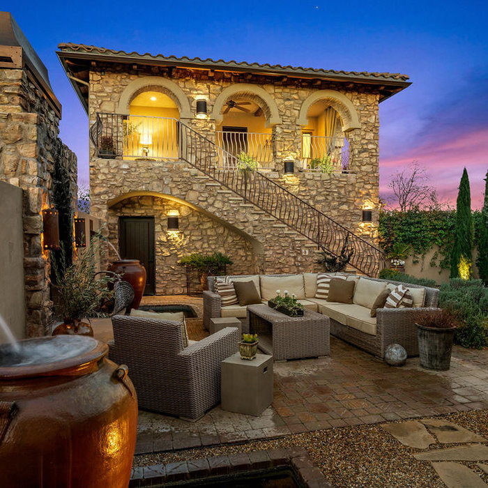 Tuscan Home Design | Oak Creek Drive
