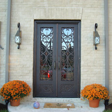 Mediterranean Exterior by Tuscan Iron Entries
