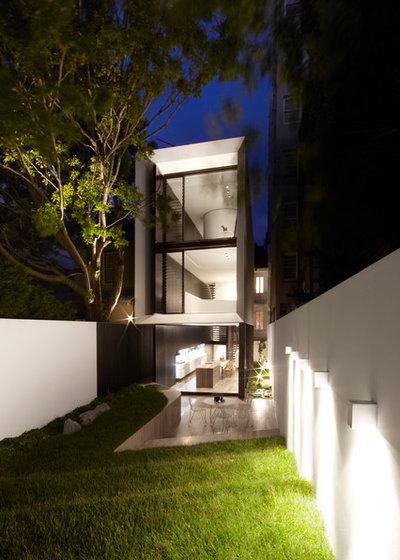 Contemporary Exterior by Smart Design Studio